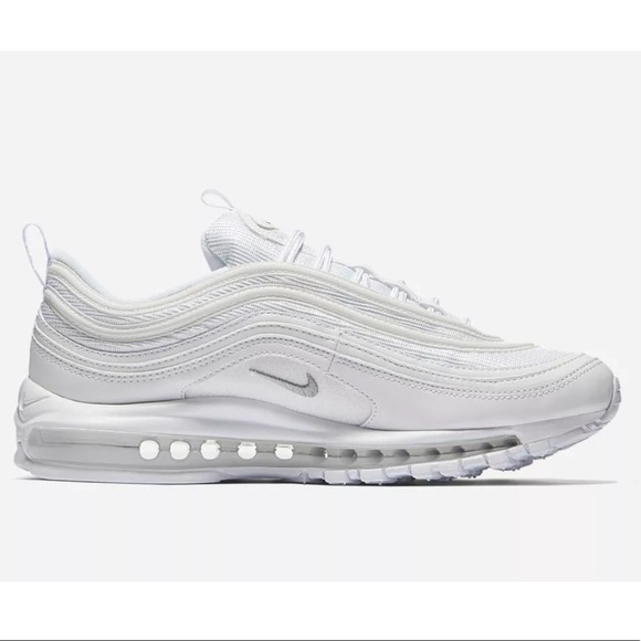 order online low priced cheap for discount Nike Air Max 97 Triple White Mens Sneakers Running NWT